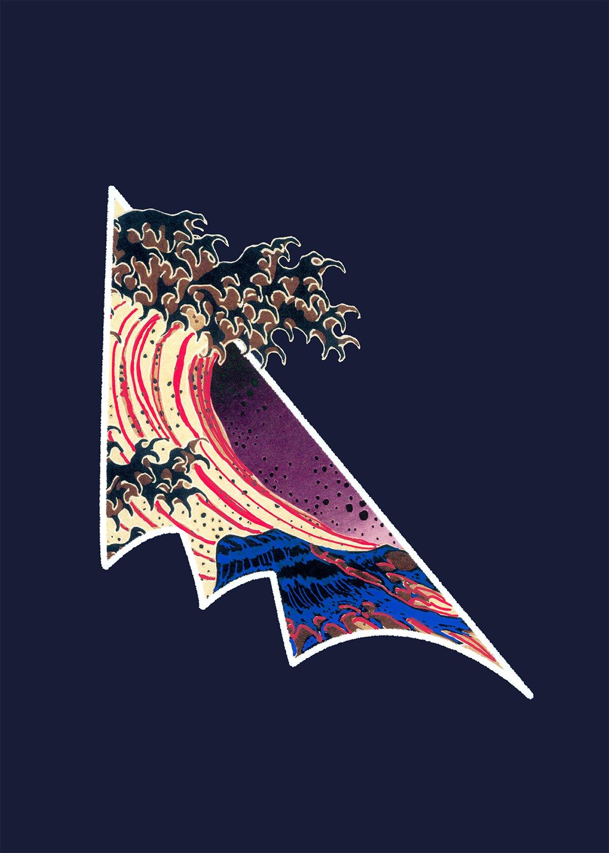 Omaggio a Hokusai